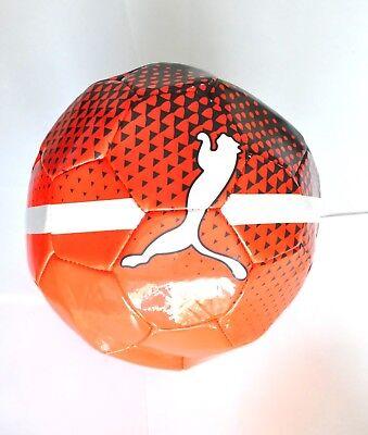Puma evo SALA Ball klein Farben Red Blast/Black/White Gr 4, 082666 01