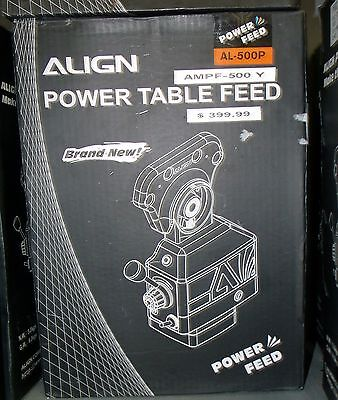 Vertex Align Ampf-500 Power Feeder Y Axis For Bridgeport Style Milling Machines