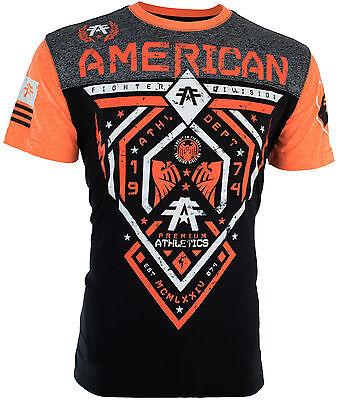 American Fighter Affliction Men T Shirt Fairbanks Tattoo Biker Gym Mma Ufc  40 G