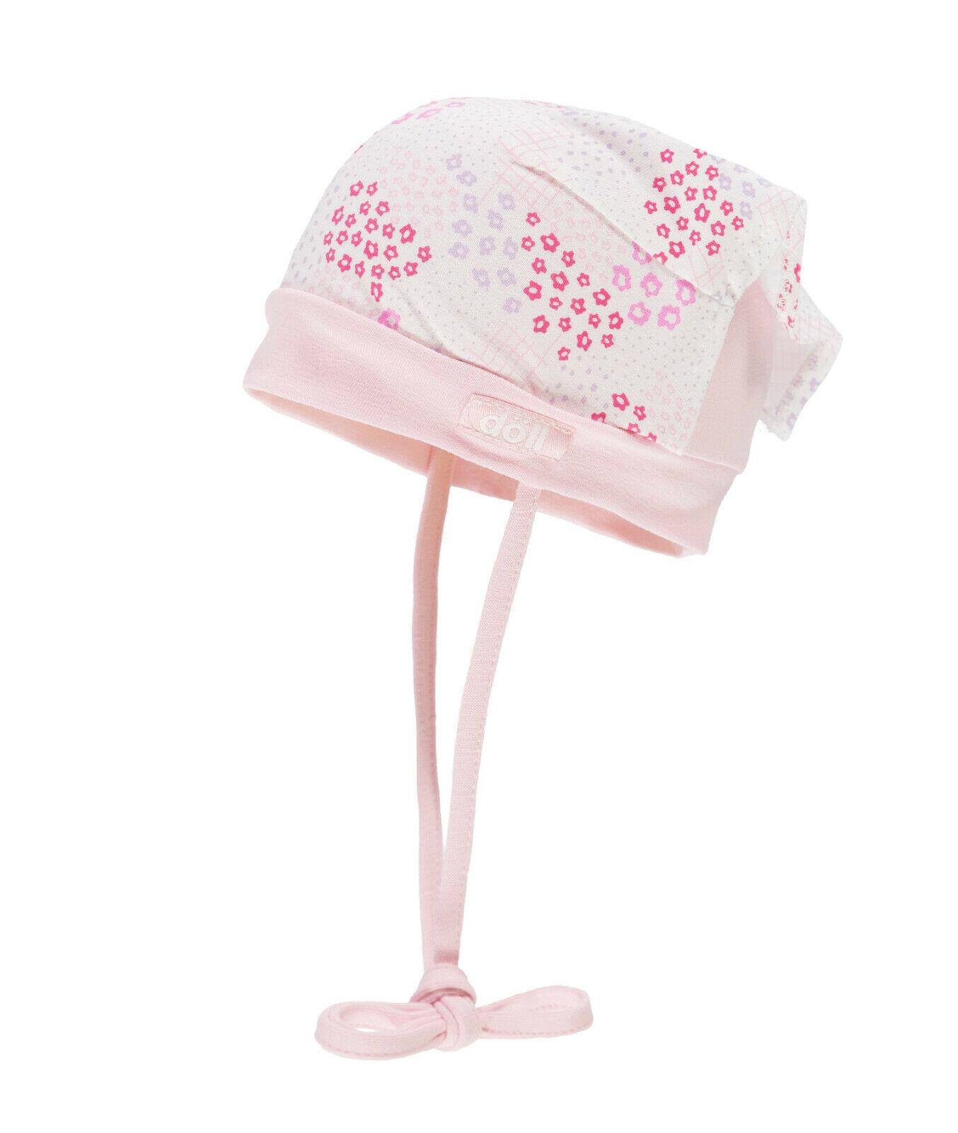 DÖLL® Baby Mädchen Binde-Kopftuch Mütze 39-49 Sommer 2019 NEU!
