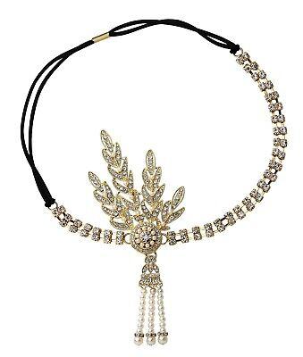 1920S Headband Flapper Headband Great Gatsby Headpiece Gatsby Accessories