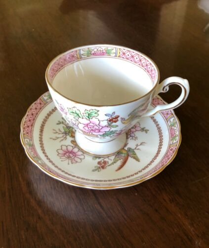 Royal Chelsea  English Bone China  Tea Cup & Saucer