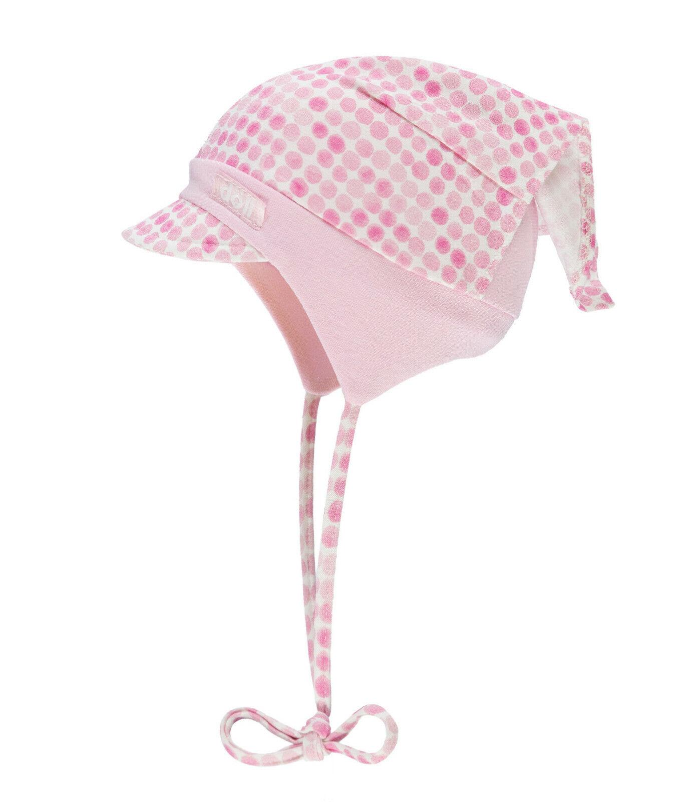 Döll Mütze Kopftuch Mädchen Baby Sonnenhut Sonnenschutz UV Schutz 50+ NEU