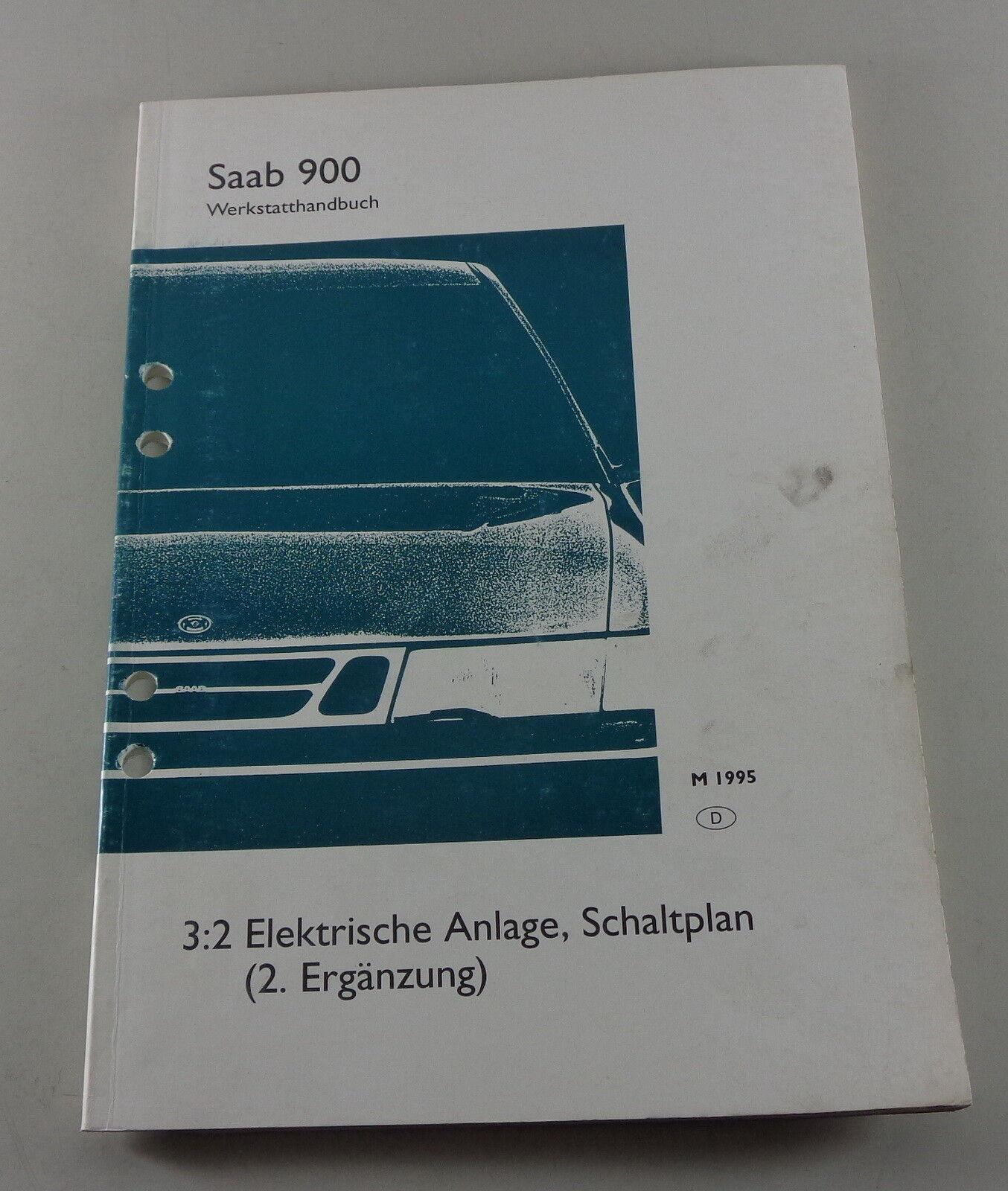 Saab WIS 900 9-2X 9-3 9-4X 9-5 Werkstatthandbuch