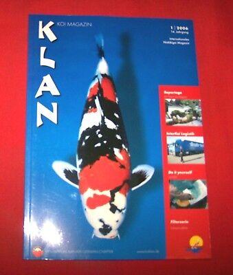 Klan Koi Magazin 2006 Nr  1 , 14. Jahrgang , Internationales Nishikigoi Magazin