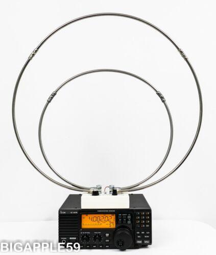 HF Loop Antenna For Amateur Radio Or Shortwave Receiver APARTMENT & HOA FRIENDLY