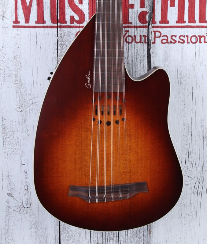 Godin Inuk Encore Steel SG 11 String Acoustic Electric Oud with Gig Bag