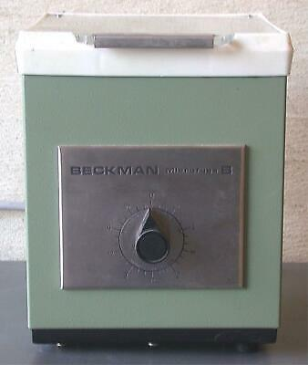 Beckman Tabletop Microfuge B Completewith 6 Stainless Steel Plates Free Shipping