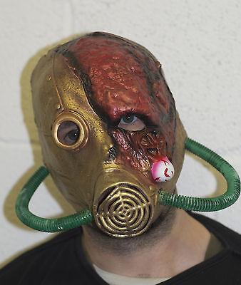 Halloween Toxisch Zombie Latex Gas Maske Kostüm Radiation Bio Hazard Ausbruch