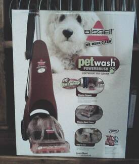 Bissell Petwash Powerbrush Deep Cleaner for Carpets/Hard Floors Draper Brisbane North West Preview