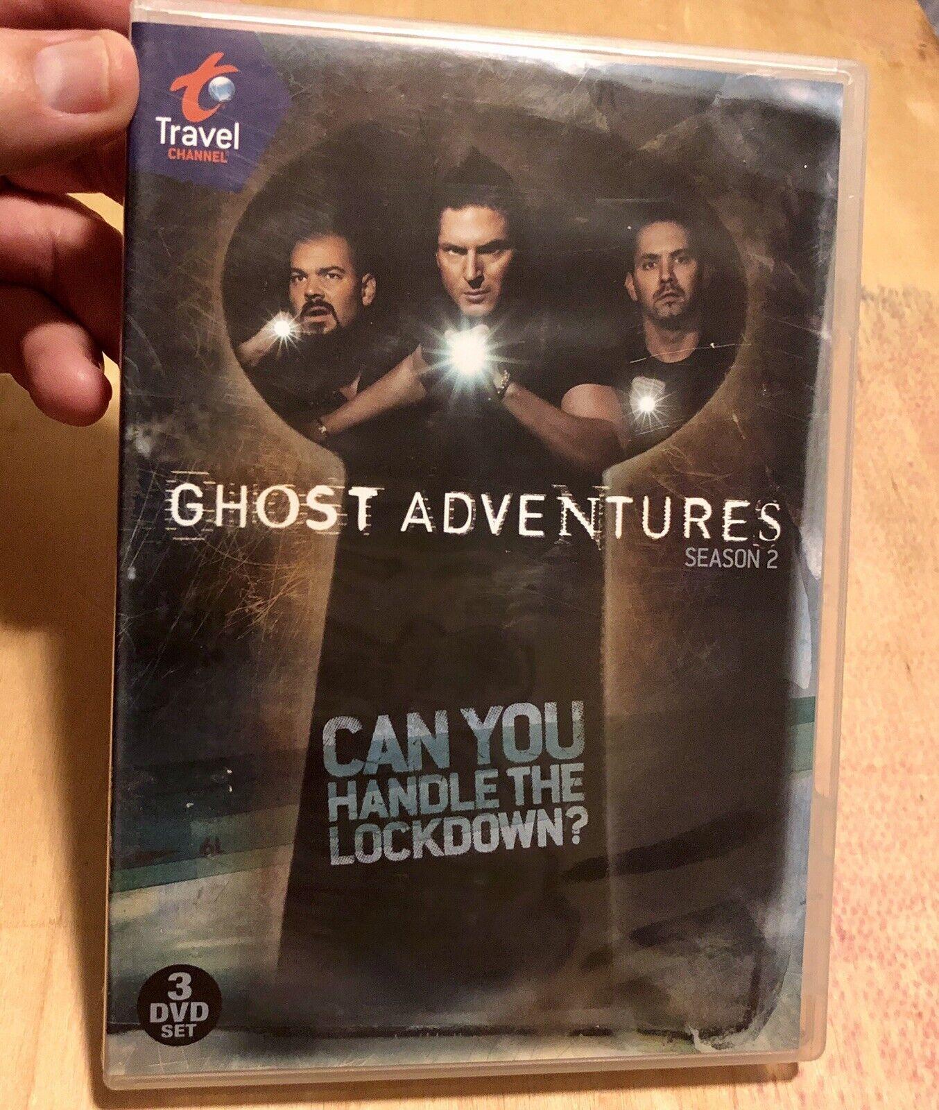 Ghost Adventures Season 2 DVD, 2010,--- Missing Disc 3  - $17.98