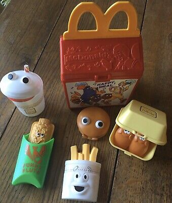 Vintage Fisher Price McDonalds Happy Meal Box Play Food 1989