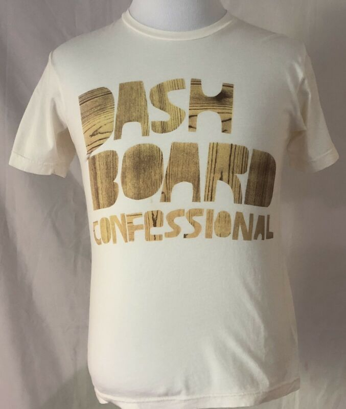 Dashboard Confessional 2006 Dusk To Summer Tour White Shirt Size Small