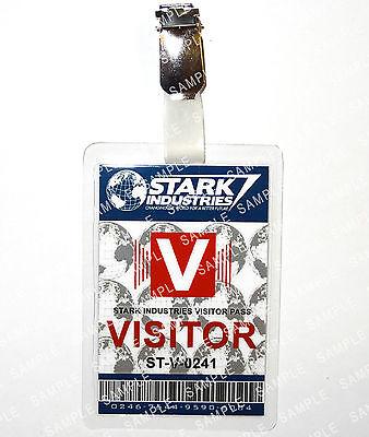 s Visitor Iron Man Avengers Cosplay Comic Con Halloween (Halloween Tony Stark)