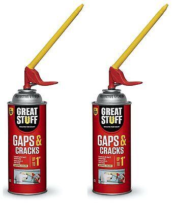 Great Stuff 99108824 Smart Dispenser Gaps & Cracks, Cream (Two Pack)
