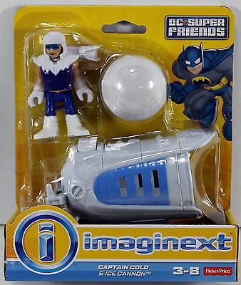 Fisher-Price Imaginext DC Super Friends - Captain Cold & Ice Cannon