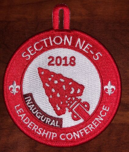 2018 NE-5 Inaugural Leadership Conference Patch - MINT