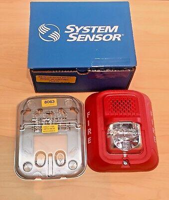 System Sensor P2rl - 2-wire Horn Strobe Red 783863047732
