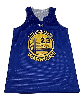 Under Armour NBA Golden State Warriors Practice Jersey Large (SEE MEASUREMENTS)
