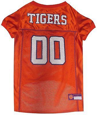 Clemson Tigers Dog Jersey - Clemson Tigers NCAA Pet Dog Sports Jersey (sizes) NEW