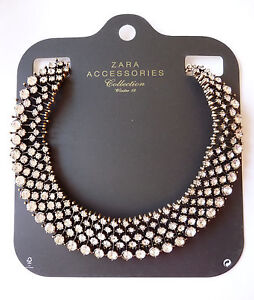 NWT Zara Kate Sparkly Crystal Bead Necklace, Great item!