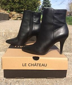 Le Chateau Leather Boots