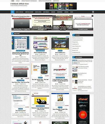 Clickbank Affiliate Store Website On Autopilot Free Hosting