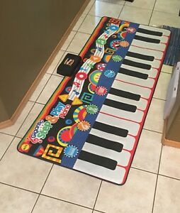 Giant floor piano