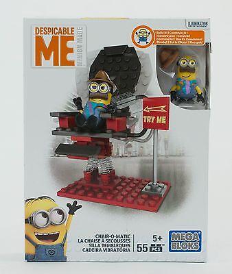 MEGA BLOCKS  MINIONS  Fabrik-Fiasko Minion Figuren NEU MEGA Bloks Bau- & Konstruktionsspielzeug