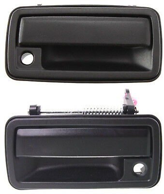 New ALL METAL Front Outer Door Handle Pair Set 1998 2004 Chevy S10 GMC Jimmy