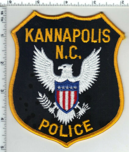 Kannapolis Police (North Carolina) 3rd Issue Shoulder Patch