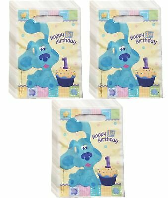 Blues Clues Happy 1st Birthday Treat Bags Pack of 24 ()