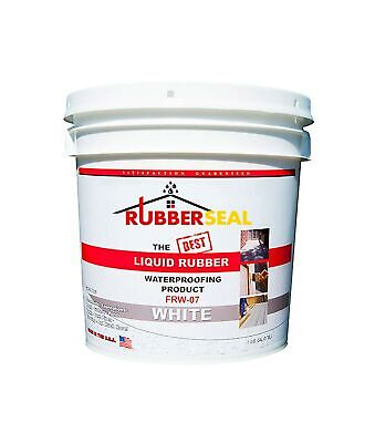 Rubberseal Liquid Rubber Waterproofing and Protective Coating - Roll On White...