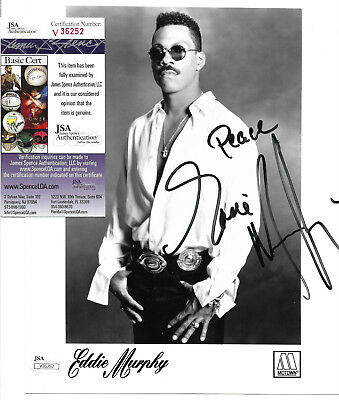 Eddie Murphy Signed 8x10 Studio Photo Autographed, Actor, Comedian, JSA -