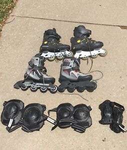 Koho Rollerblades and Pads