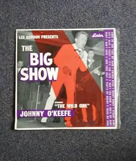 "Johnny okeefe ""the big show"" 1960 LP"