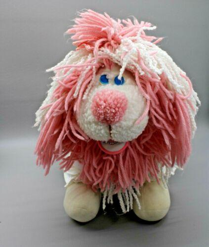 1986 Plush Vintage Disney Kenner Fanci Flup Fluppy Pink Dog Original Dress