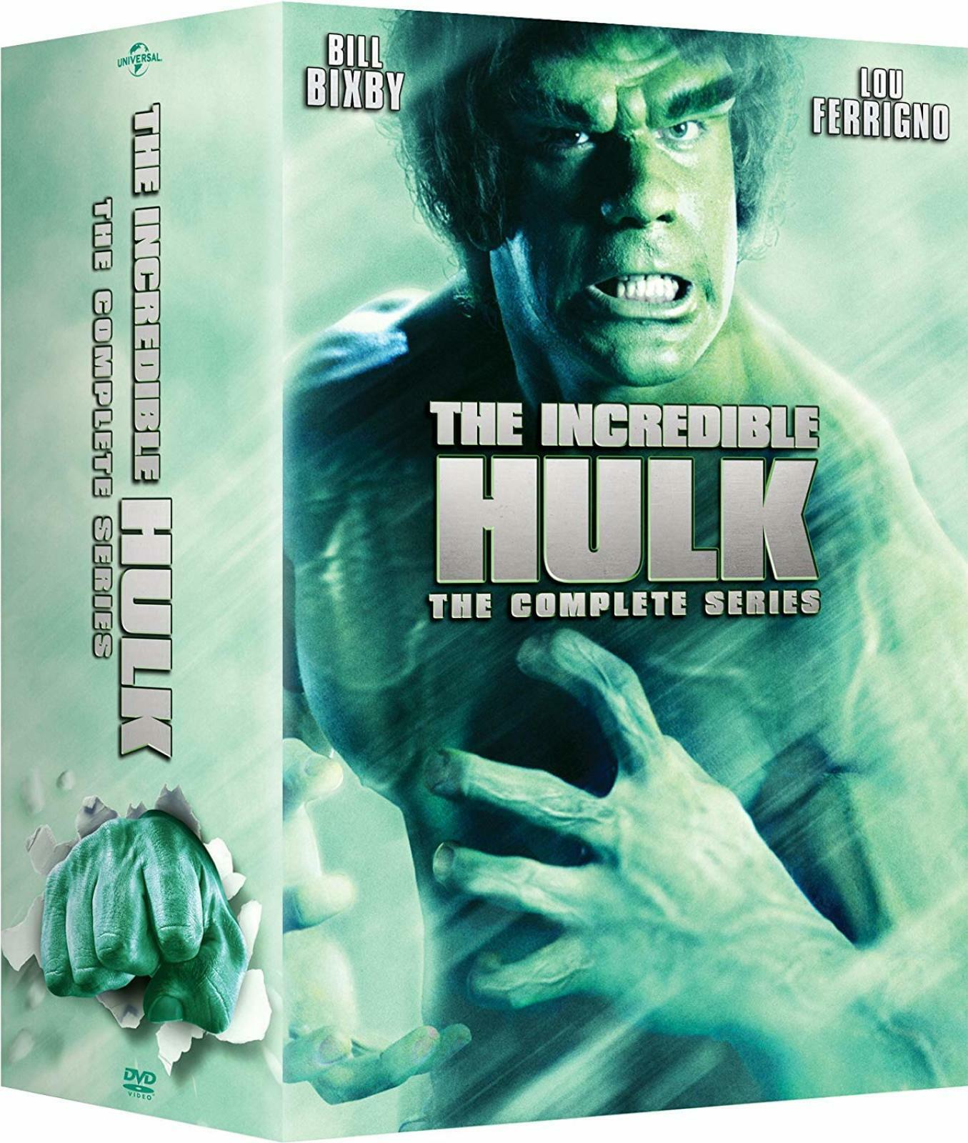 The Incredible Hulk: Complete Series 80's TV Show Classic ...