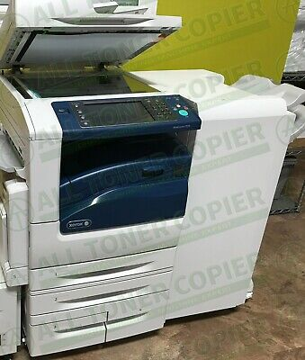 Xerox Workcentre 7970 Laser Color Bw Printer Scanner Copier Finisher 70ppm A3