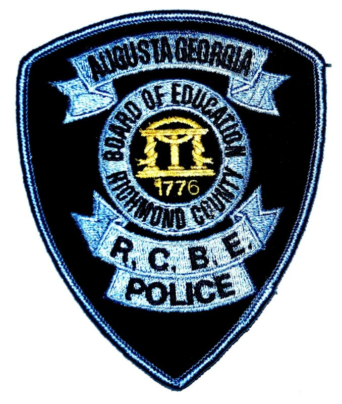 AUGUSTA GEORGIA GA CAMPUS Police Patch RICHMOND COUNTY BOARD EDUCATION ~