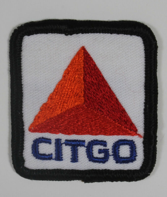 CITGO VINTAGE  PATCH, SEW ON, NEW OLD STOCK, 70