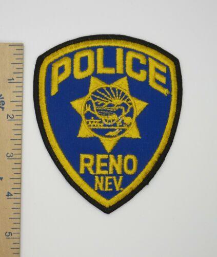 RENO NEVADA POLICE PATCH Vintage Original