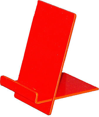 iPhone / Samsung / Sony / Desk Top Phone Holder with Lip Red