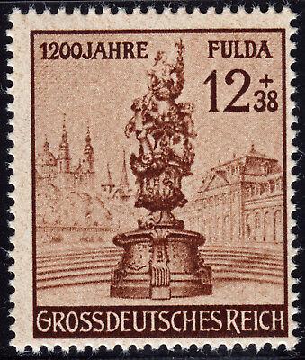 Deutsches Reich 886 ** 1200 Jahre Stadt Fulda, postfrisch