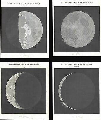 1845 Bradford Views of the Moon