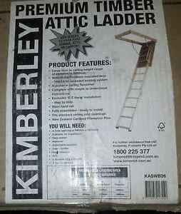 Kimberley Premium Timber Attic Ladder Endeavour Hills Casey Area Preview