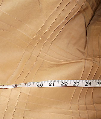 40 Metres Designer Quality Curtain Fabric Gold Faux Silk Taffeta Trellis  Silk Designer Drapery Faux Fabric