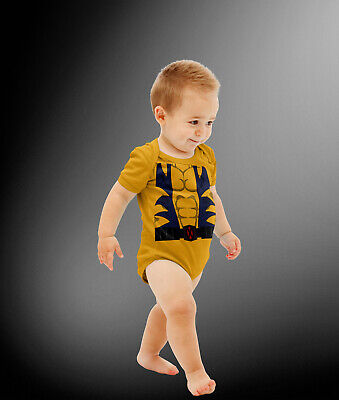 Wolverine Infant Costume (Baby Wolverine Costume Cosplay Bodysuit)