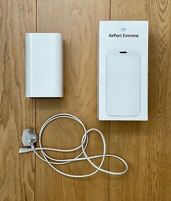Apple AirPort Extreme Gigabit Wireless Router ME918B/A Dual Band 802.11ac
