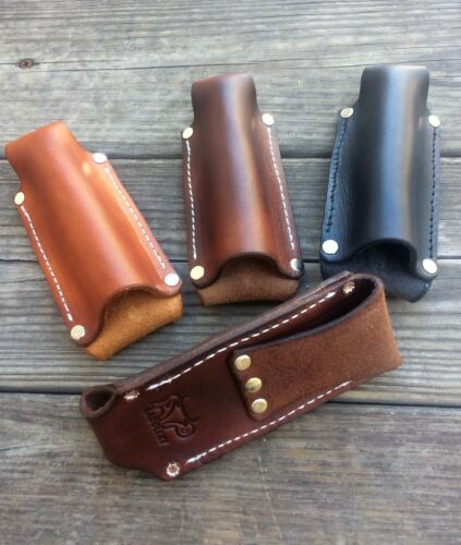 Leather Flashlight Holster Terralux, Streamlight, Maglite Mini AA Battery